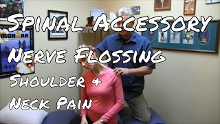 Download Get Rid of Shoulder and Scapulae Pain by Flossing the Spinal Accessory Nerve Video