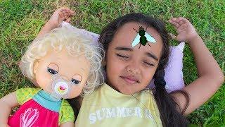 Download BIA LOBO / BABY ALIVE CLARABELA / QUEREM DORMIR / WANT TO SLEEP Video