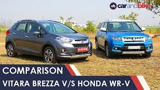 Download Maruti Vitara Brezza Vs Honda WR-V Comparison Review - NDTV CarAndBike Video