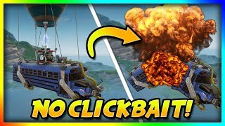Download How To Destroy The Battle Bus in Fortnite: Battle Royale (in air) Video