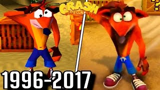 Download Evolution of First Levels in Crash Bandicoot Games (1996-2017) Video