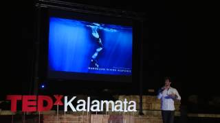 Download A glimpse of infinity | Guillaume Nery | TEDxKalamata Video