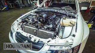 Download [HOONIGAN] DT 139: Our Holden Ute Gets a Fresh V8 Video