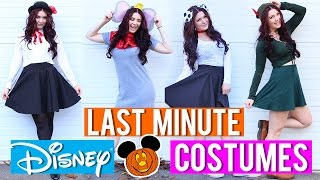 Download LAST MINUTE Disney Inspired COSTUMES! Video