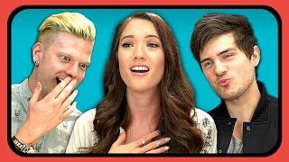 Download YOUTUBERS REACT TO FIRST KISS Video