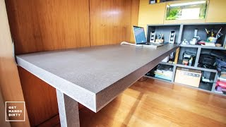Download Loft Bed // Work Space : (Almost Floating) Desk - Ep. 4 Video