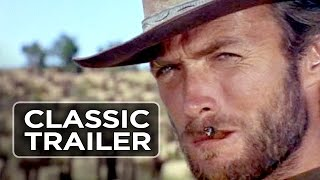 Download The Good, the Bad, and the Ugly Official Trailer #1 - Clint Eastwood Movie (1966) HD Video