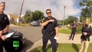 Download Man confronts cops after they shoot his dog Video