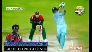 Download Sachin Tendulkar vs Henry Olonga The revenge - full innings Sharjah 1998. FIRST ON YOUTUBE Video