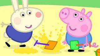 Download Peppa Pig en Español Episodios completos | ¡El amigo de George Richard Rabbit! | Dibujos Animados Video