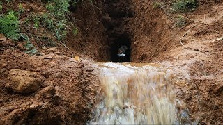 Download Primitive Technology: Drainage tunnel Video