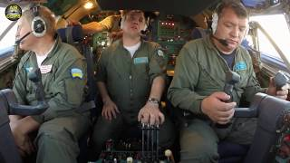 Download MEGA An-22 ULTIMATE COCKPIT MOVIE, TWO FLIGHTS! HUGE Outsized Cargo, mega outsized plane! [AirClips] Video