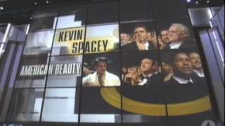 Download Kevin Spacey Wins Best Actor: 2000 Oscars Video