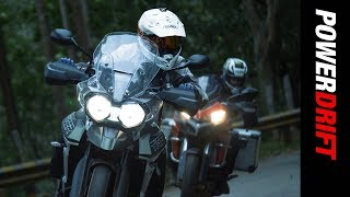 Download Adventure of a lifetime : Triumph Tiger 800 & Ducati Multistrada 950 : PowerDrift Video