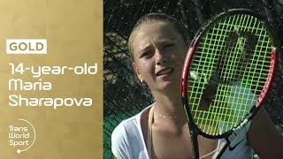 Download 14-year-old Maria Sharapova on Trans World Sport Video
