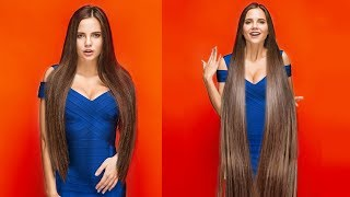 Download 16 HAIR HACKS AND HAIRSTYLES TO MAKE YOUR HAIR LOOK LONGER AND STRONGER Video