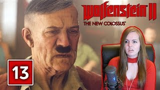 Download I KICKED HITLER IN THE FACE!! Wolfenstein 2 The New Colossus Gameplay Walkthrough Part 13 Video