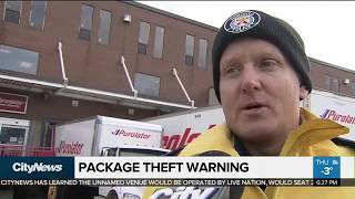 Download How to safeguard yourself from package theft Video