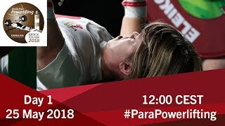 Download Women's Up to 41kg & 45kg | World Para Powerlifting European Open Championships Video