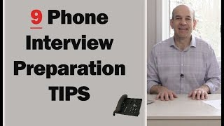Download 9 Phone Interview Tips to ACING Your Interview Video
