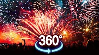 Download VR 360 Video ★ Fireworks VR XXL 180 VR [Google Cardboard VR Box 360] Virtual Reality 360 VR 180 4K Video