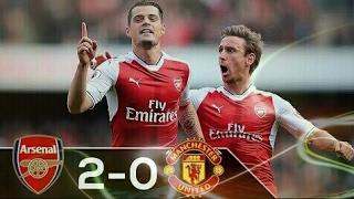 Download Hasil Pertandingan Arsenal vs Manchester united 2-0 (Premier League 07/05/2017) Video