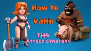 Download How to 3star th8 with low level troops Video