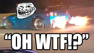 Download EPIC TROLL - Nissan GT-R Flyby! Video