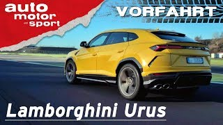 Download Lamborghini Urus (2018): Sterben Supersportler jetzt aus? – Vorfahrt (Review) | auto motor und sport Video