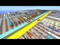 Download CraftyFoxe 121 Minecraft Trains Collection Review Video