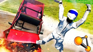 Download MUÑECO DE PRUEBAS !!! DEFORMACIONES DE COCHES !!! Crash Simulator BeamNG Drive Makiman Video
