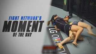 Download Moment of the Day: Angela Lee's Twister at ONE Championship: Pride of Lions Video