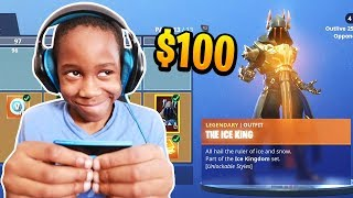 Download Kid Spends $100 On Season 7 *MAX* Battle Pass With Brother's Credit Card (Fortnite) Video