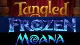 Download Side by Side: Tangled, Frozen, and Moana Video