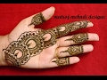 easy simple mehndi henna designs for hands|Matroj Mehndi Designs