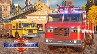 Download William Watermore the Fire Truck - Real City Heroes (RCH) | Videos For Children Video
