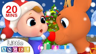 Download Jingle Bells 🔔| Christmas Song for Kids +More Nursery Rhymes by Little Angel Video