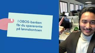Download OBOS medlemsfordeler - OBOS-banken sparerente på lønnskonto, spanderer! Video