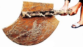 Download Restoration very old giant ax | Restore the butcher ax Video