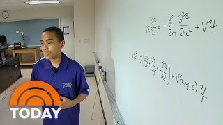 Download Meet The 14-Year-Old Quantum Physics Whiz Who's Already Graduating College | TODAY Video