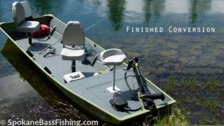 Download (HD) Jon Boat to Bass Boat Conversion ( Modification Project ) Video
