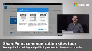 Download An overview of SharePoint communication sites Video