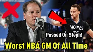 Download The WORST GM In NBA HISTORY! Video