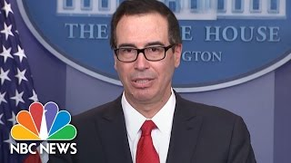 Download Steve Mnuchin Unveils 'Massive' Tax Cuts For Small And Large Businesses | NBC News Video