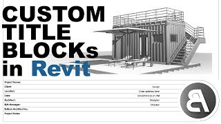 Download Title Blocks in Revit and Exporting to PDF Video