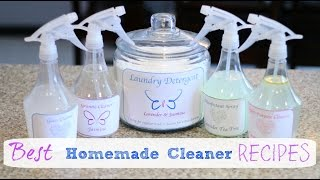 Download How to make the Best Homemade Cleaners! Video
