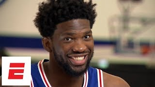 Download Joel Embiid interview: Learning to shoot 3s from YouTube, reaction to fired GM Bryan Colangelo Video
