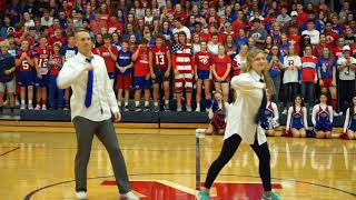 Download 2018 Roncalli Homecoming Pep Assembly Video