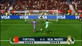 Download PORTUGAL vs REAL MADRID | Penalty Shootout | PES 2017 Gameplay Video