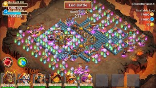 Download New Insane Dungeon 5-6 Castle Clash 3 Flamed Video